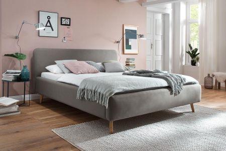 Upholstered bed 160x200 - Mattis