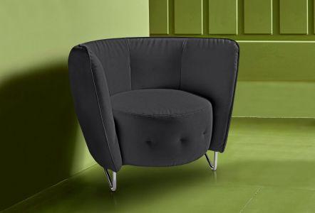 melns krēsls