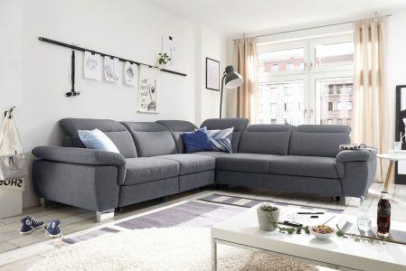 Tumši pelēks dīvāns