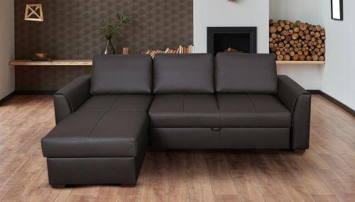 Угловый диван - Moreno (Pаскладной с ящиком для белья)