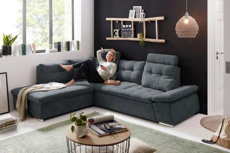 Угловый диван ХL - Nalo (Pаскладной с ящиком для белья)