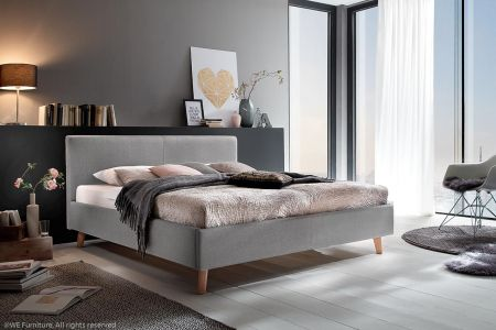 Upholstered bed 140x200 - Paula