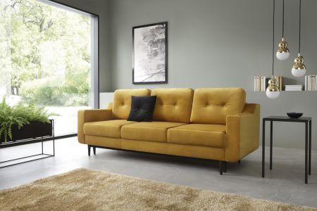 Trīsvietīgs dīvāns - Olsen (Izvelkams ar veļas kasti)