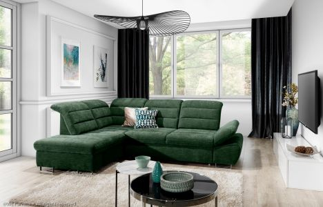 Угловый диван ХL - Roma (Pаскладной с ящиком для белья)