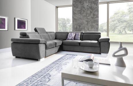 Угловый диван ХL - Rosso (Pаскладной с ящиком для белья)
