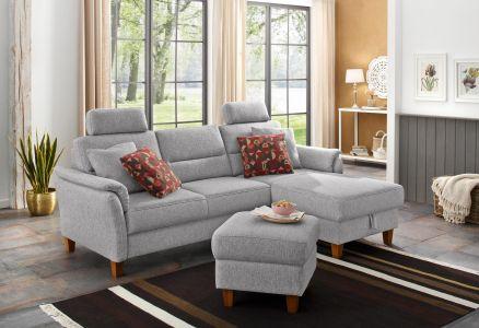 Dīvāns ar austu audumu