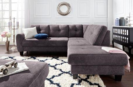 Stūra dīvāns XL - Varese (Izvelkams ar veļas kasti)