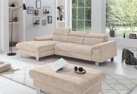 gaišs stūra dīvāns micky