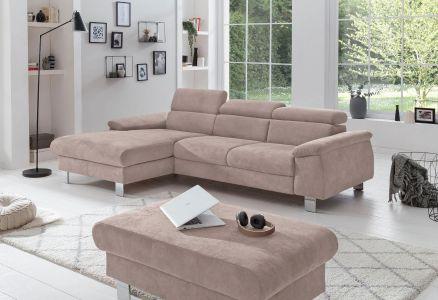 Kapučīno krāsas dīvāns