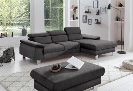 Stūra dīvāns no auduma
