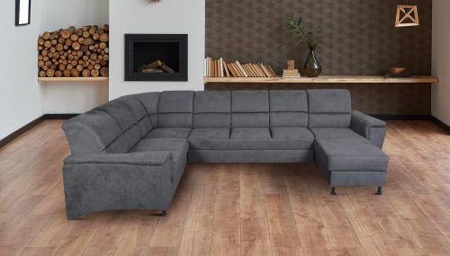 U-образный диван - Milano (Pаскладной с ящиком для белья)