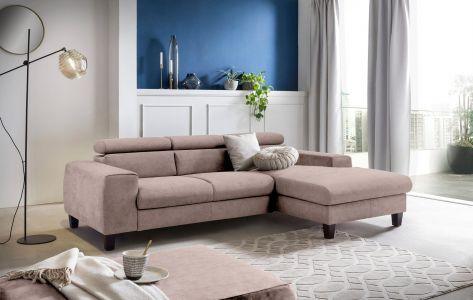 stūra dīvāns ar labu audumu alkantara