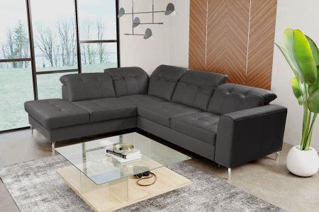 Угловый диван ХL - Paula (Pаскладной с ящиком для белья)