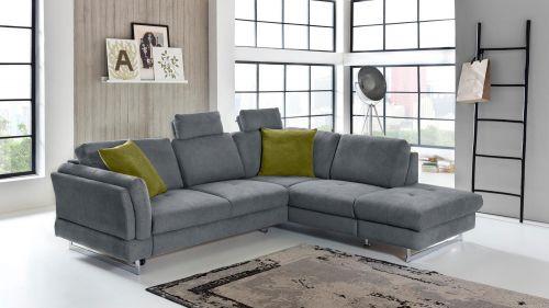 Stūra dīvāns XL - Sunshine (Izvelkams ar veļas kasti)