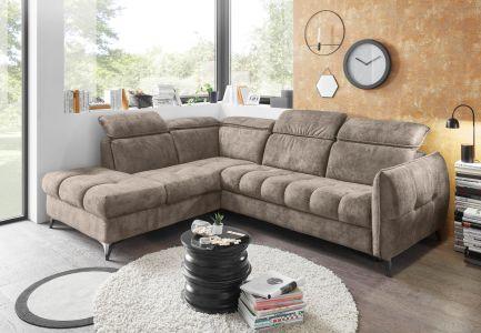 Угловый диван ХL - Togo (Pаскладной с ящиком для белья)