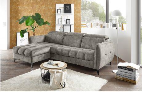 Угловый диван - Togo (Pаскладной с ящиком для белья)