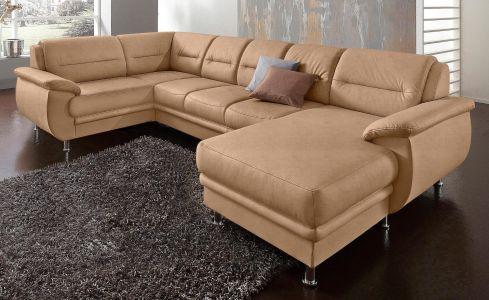 gaiši brūns izvelkams dīvāns