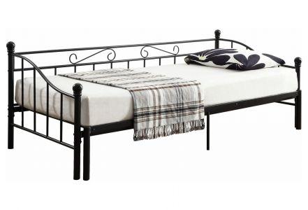 Polsterēta gulta 90x200 - Toscana (Izvelkams)