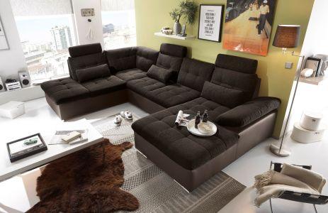 Tumši brūns jauns dīvāns Rīgā mēbeļu veikalā we furniture