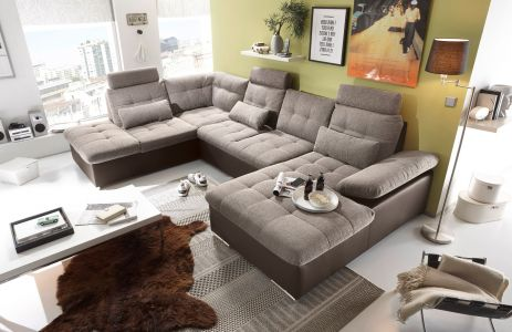 Ērts dīvāns brūns