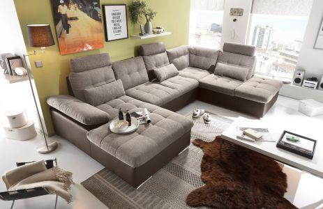 Ērts jauns dīvāns ar diviem stūriem we futniture