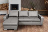 Stūra dīvāns - Flores (Izvelkams ar veļas kasti)