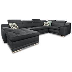 U formas dīvāns - Andiamo (Izvelkams)