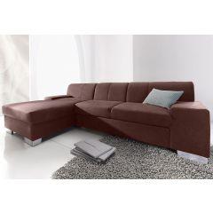 Brūni ādas dīvāni