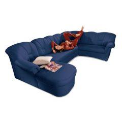 U formas dīvāns - Papenburg (Izvelkams)
