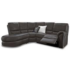 Ādas Stūra dīvāns XL - Mark