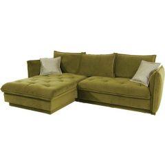 Stūra dīvāns - Palladio (Izvelkams ar veļas kasti)