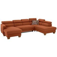 U formas dīvāns - Steve (Izvelkams)