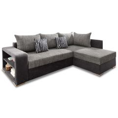 Stūra dīvāns XL - John (Izvelkams ar veļas kasti)