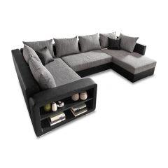 U formas dīvāns - John (Izvelkams ar veļas kasti)