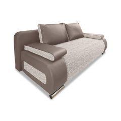 Trīsvietīgs dīvāns - Moritz (Izvelkams ar veļas kasti)