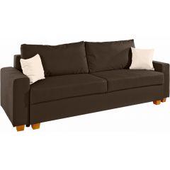 Trīsvietīgs dīvāns - Merano (Izvelkams ar veļas kasti)