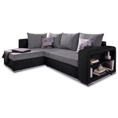 Stūra dīvāns XL - Johny (Izvelkams ar veļas kasti)