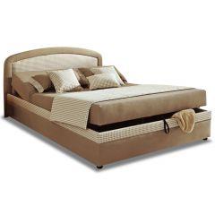 Polsterēta gulta 100x200 - Ramira (ar veļas kasti)