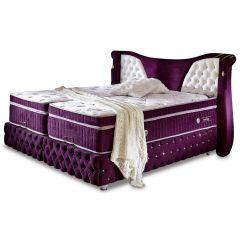 Polsterēta gulta 90x200 - Imola (ar veļas kasti)