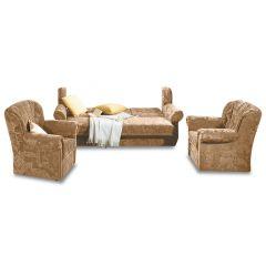 Dīvānu komplekts 3-1-1 - 12417 Mira (Izvelkams ar veļas kasti)