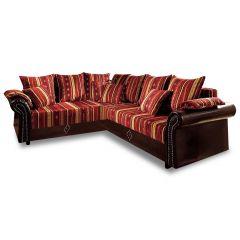 Stūra dīvāns XL - Norra (Izvelkams ar veļas kasti)