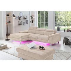 Stūra dīvāns micky ar led gaismu