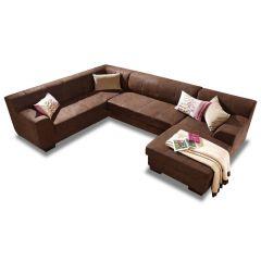 U formas dīvāns - Falk (Izvelkams)