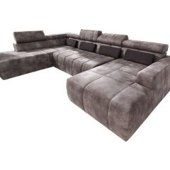 U formas dīvāns - Brandon (Izvelkams)