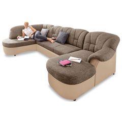 U formas dīvāns - Flores (Izvelkams)