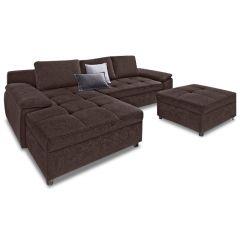 Stūra dīvāns - Labene (Izvelkams ar veļas kasti)