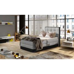 Kontinentālā gulta 90x200 - Aster (ar veļas kasti)