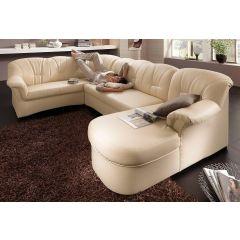 Dīvāns ar diviem stūriem gaišs