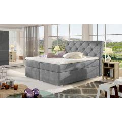 Kontinentālā gulta 140x200 - Balvin (ar veļas kasti)