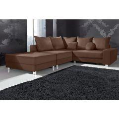 Brūns lēts dīvāns ar defektu akcija